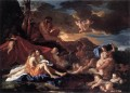 Acis and Galatea classical painter Nicolas Poussin