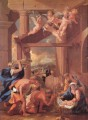 The Adoration of the Shepherds classical painter Nicolas Poussin