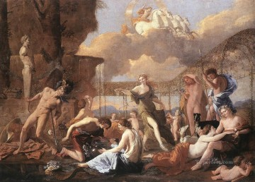 classical art - The Empire of Flora classical painter Nicolas Poussin