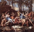 Triumph of Neptune classical painter Nicolas Poussin