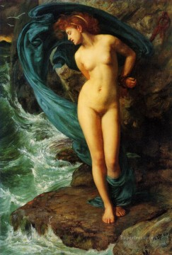 girl Deco Art - John Andromeda girl Edward Poynter
