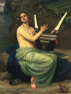 girl Deco Art - Sir Edward The Siren girl Edward Poynter