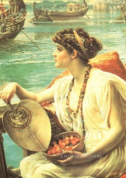 Girl Works - Roman Boat Race girl Edward Poynter