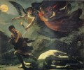 Justice and Divine Vengeance Pursuing Crime Romantic Pierre Paul Prud hon