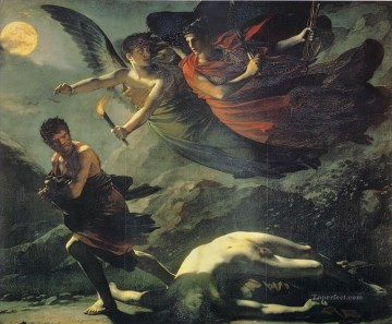 Pierre Paul Prud hon Painting - Justice and Divine Vengeance Pursuing Crime Romantic Pierre Paul Prud hon