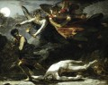 Justice and Divine Vengeance Pursuing Crime study Romantic Pierre Paul Prud hon