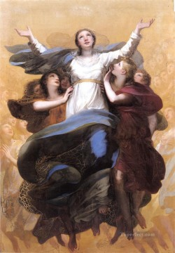 Pierre Paul Prud hon Painting - LAssomption de la Vierge Romantic Pierre Paul Prud hon