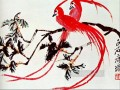 Qi Baishi birds of paradise old China ink