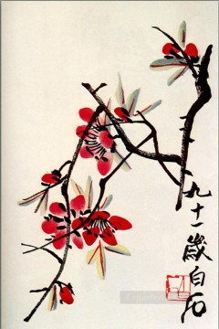 Qi Baishi Painting - Qi Baishi briar old China ink