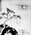 Qi Baishi cold night old China ink