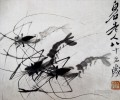 Qi Baishi shrimp 1 old China ink