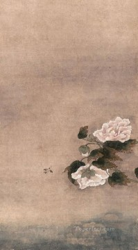 Qian Xuan Painting - shadow in water of lotus old China ink