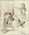 Alice And The Frog Footman illustrator Arthur Rackham