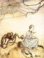 Mother Goose Little Miss Muffet illustrator Arthur Rackham