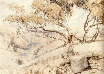 The Song Of The Lark illustrator Arthur Rackham Oil Paintings