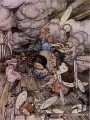 Alice in Wonderland Pig and Pepper illustrator Arthur Rackham
