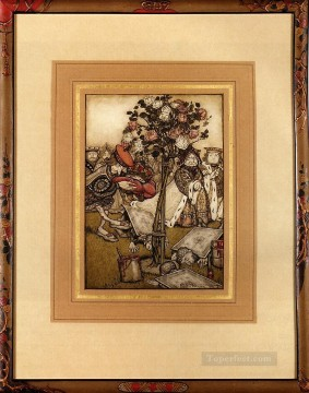 Heart Painting - The Jack Of Hearts illustrator Arthur Rackham