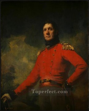 Scott Canvas - Colonel Francis James Scott Scottish portrait painter Henry Raeburn