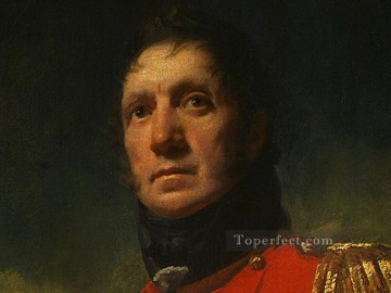 Scott Canvas - Colonel Francis James Scott dt1 Scottish portrait painter Henry Raeburn