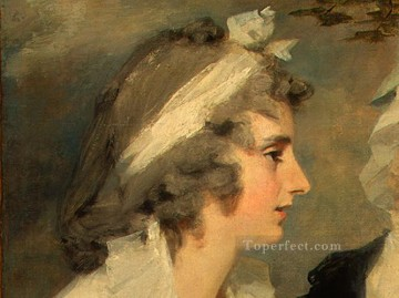 Scott Canvas - John Johnstone Betty Johnstone and Miss Wedderburn dt1 Scottish portrait painter Henry Raeburn