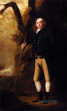 Scott Canvas - Portrait Of Alexander Keith Of Ravelston Midlothian Scottish painter Henry Raeburn