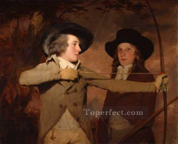 Scott Canvas - The Archers Scottish portrait painter Henry Raeburn