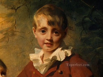 dt1 Works - The Binning Children dt1 Scottish portrait painter Henry Raeburn