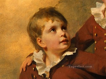 child Painting - The Binning Children dt2 Scottish portrait painter Henry Raeburn