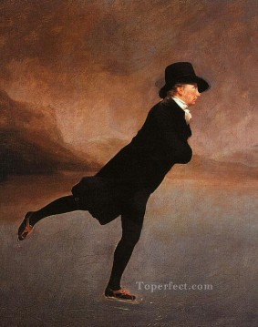Scott Canvas - The Reverend Robert Walker Skating Scottish portrait painter Henry Raeburn