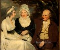 John Johnstone Betty Johnstone and Miss Wedderburn Scottish portrait painter Henry Raeburn