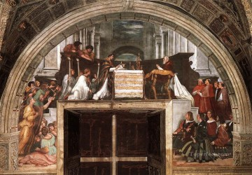 The Mass at Bolsena Renaissance master Raphael Oil Paintings