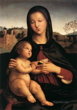 Madonna and Child 1503 Renaissance master Raphael Oil Paintings