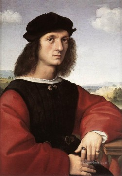 Portrait of Agnolo Doni Renaissance master Raphael Oil Paintings