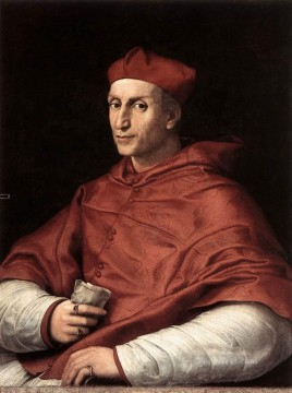 Portrait of Cardinal Bibbiena Renaissance master Raphael Oil Paintings
