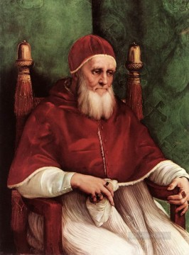 Portrait of Julius II 1511 Renaissance master Raphael Oil Paintings