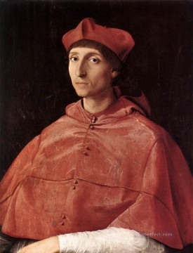 Portrait of a Cardinal Renaissance master Raphael Oil Paintings