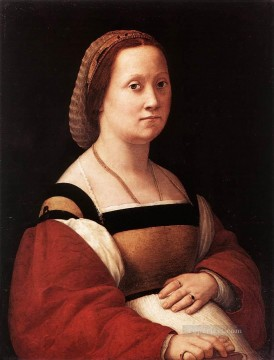 Portrait of a Woman La Donna Gravida Renaissance master Raphael Oil Paintings
