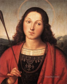 St Sebastian 1501 Renaissance master Raphael Oil Paintings