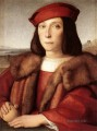 Young Man with an Apple Renaissance master Raphael