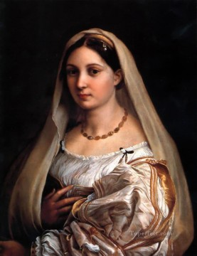 La Donna Velata Renaissance master Raphael Oil Paintings