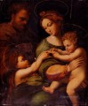 Holy Famliy With Saint John The baptist Renaissance master Raphael