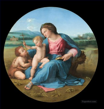 Don Art - The Alba Madonna Renaissance master Raphael
