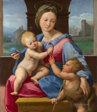 The Garvagh Madonna Renaissance master Raphael Oil Paintings