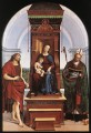 Madonna and Child The Ansidei Altarpiece Renaissance master Raphael
