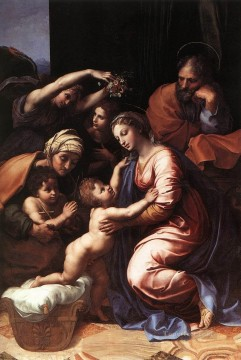 Family Works - The Holy Family Renaissance master Raphael
