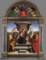 Madonna and Child Enthroned with Saints 1504 Renaissance master Raphael