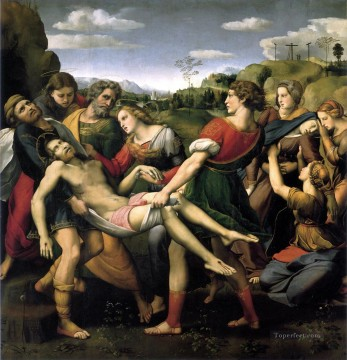 The Entombment Renaissance master Raphael Oil Paintings