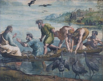 The Miraculous Draught of Fishes Renaissance master Raphael Oil Paintings