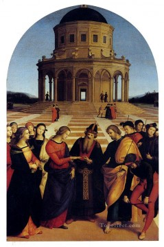 Marriage Of The Virgin Renaissance master Raphael Oil Paintings