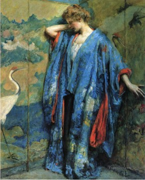 lady - Blue and Yellow lady Robert Reid